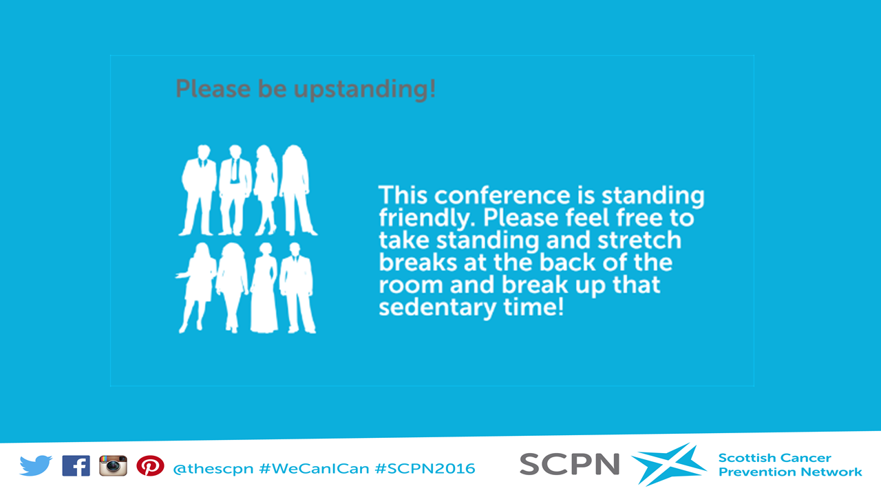 Please be upstanding! conf