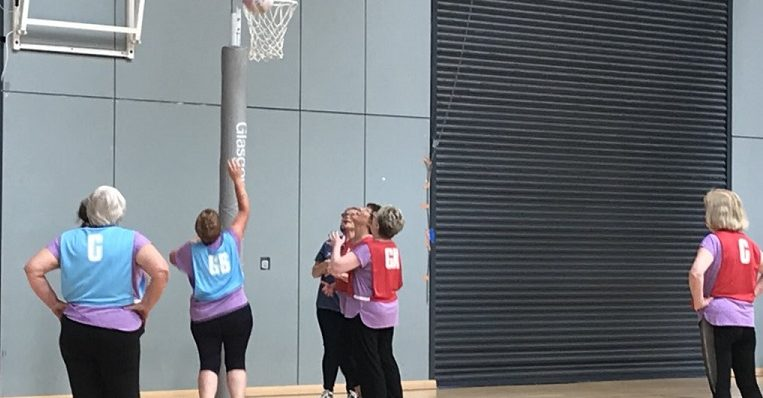 What does intimidating mean in netball