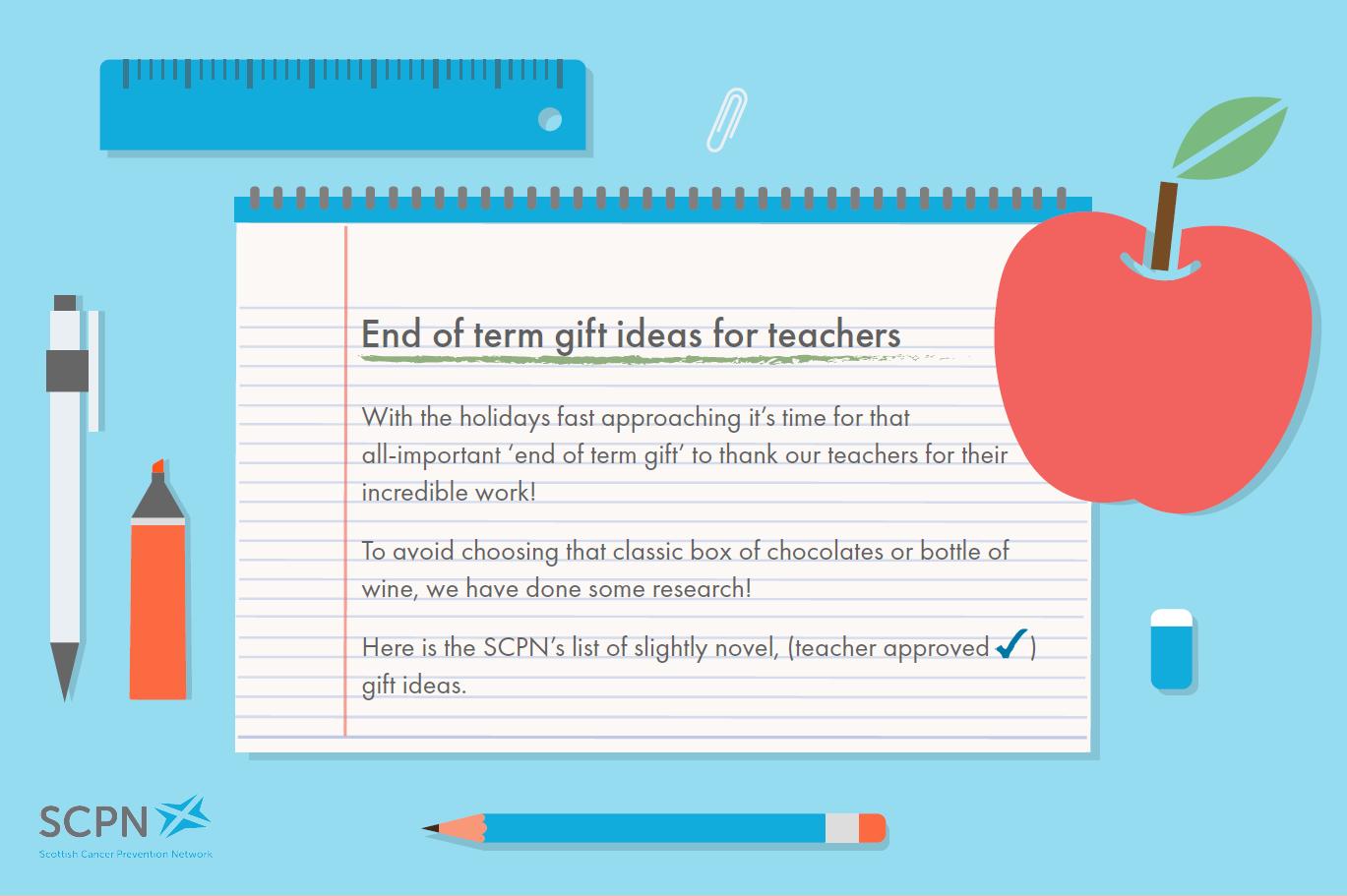 Alternative Gifts for Teachers